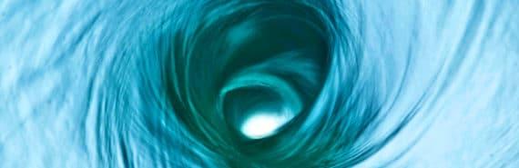 water vortex (turbulent dynamo concept)