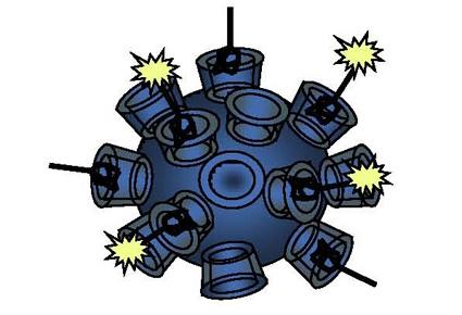 Davis nanoparticle schematic
