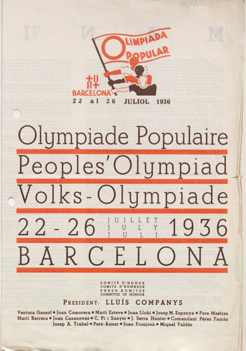 Olympiad poster