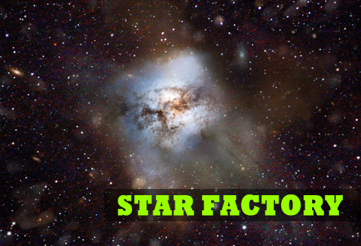 Massive star factory in early universe