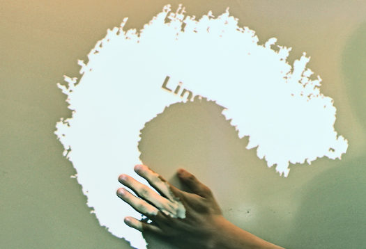 Wave hand. Turn any surface into a touchscreen
