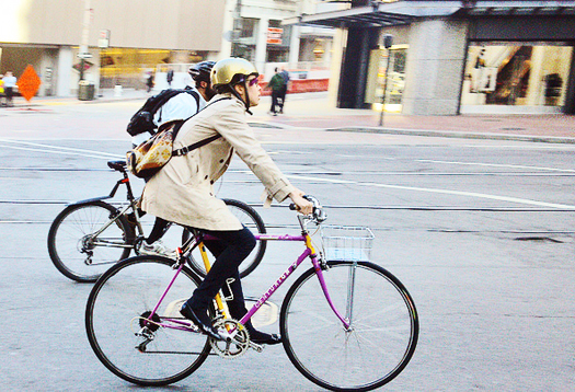 Why biking to work can be contagious