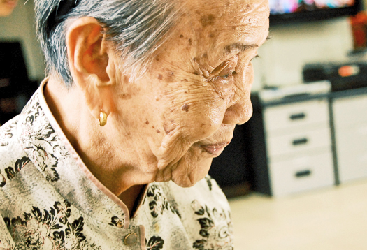 Older women in China fare worse than men