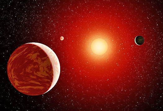 Earth-like planets found in star's habitable zone