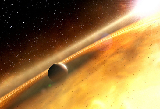 Planets like Earth could be hiding in space dust