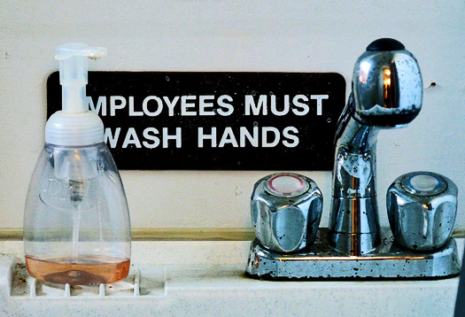 1 in 10 skips hand washing in public bathrooms