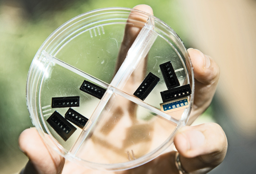 Silicon oxide tested for next-gen 'flash' memory