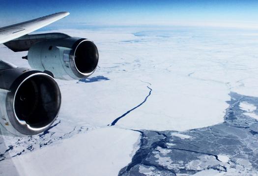 Radar finds 'swamp' under Antarctic glacier