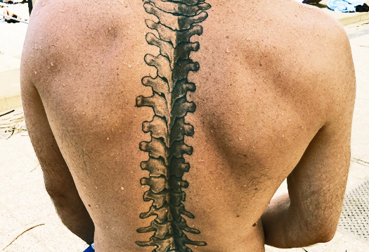 Gel plumps up spine's shock absorbers