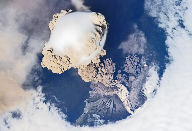 Hot ash can turn into lava miles from eruption
