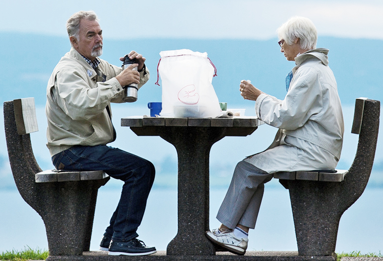 Retirement is better if you don't go it alone