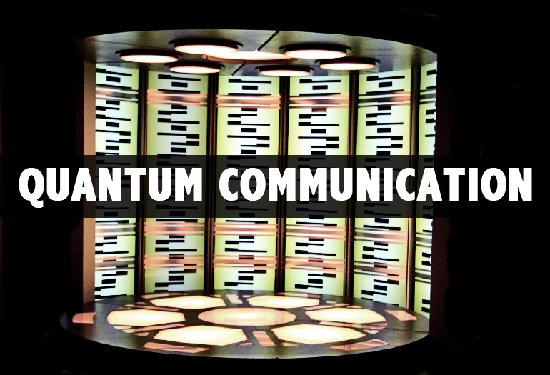 Quantum system teleports an atom
