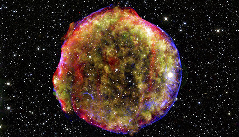 Violent winds seeded early cosmos with iron