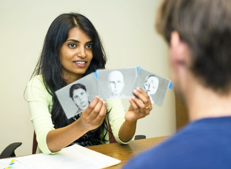 Akanksha Prakash (above) says a safer bet would be to design robots with some human-like features but making certain that the overall aesthetics are not discomforting or repulsive to most people. (Credit: Georgia Tech)