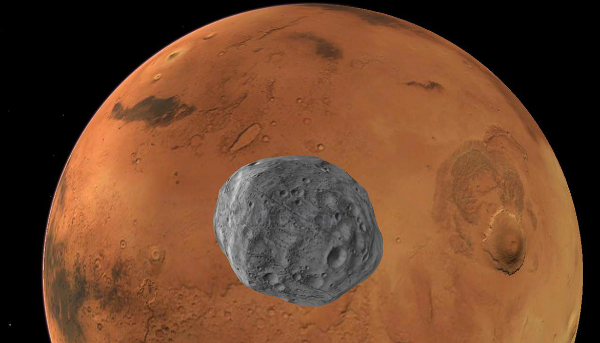 Sample from Mars moon mission could be a twofer