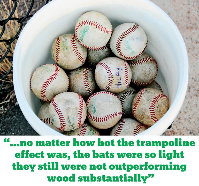 Light baseball bats okay for young players - Futurity