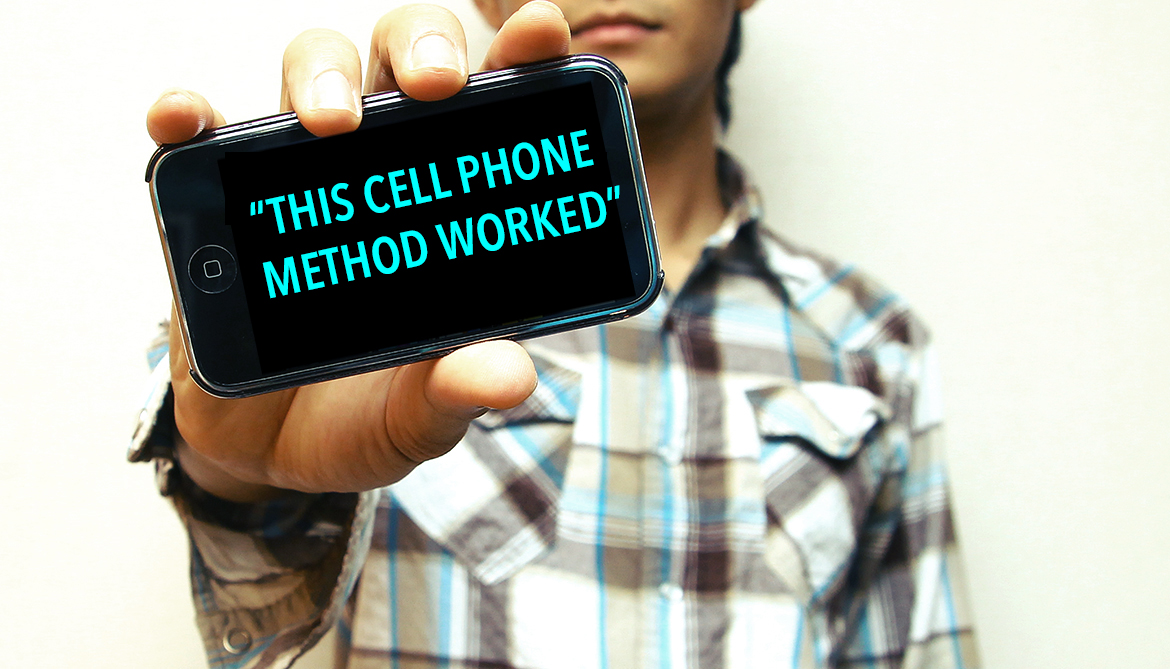 Count molecules with with a cell phone