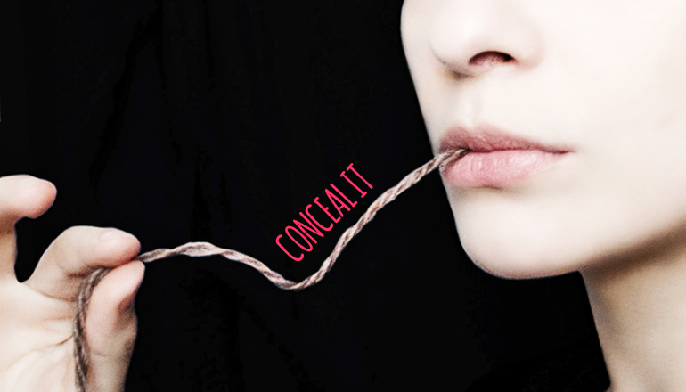 Keeping secrets can cause you to 'come undone'