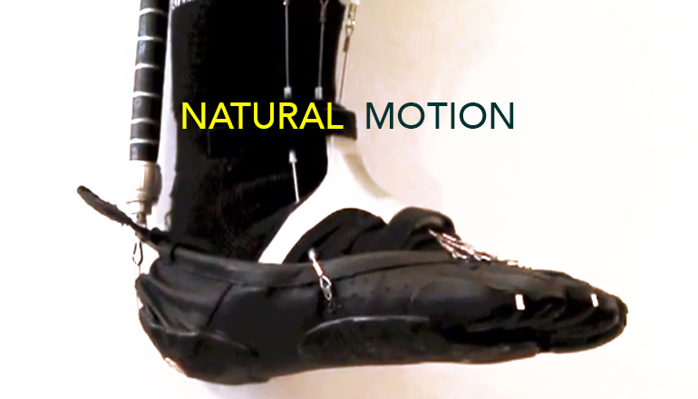 Robotic ankle moves more like the real thing