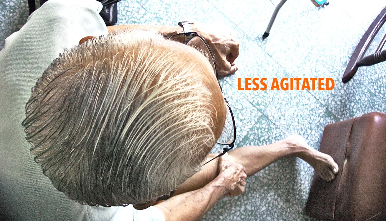 Common antidepressant eases Alzheimer's agitation