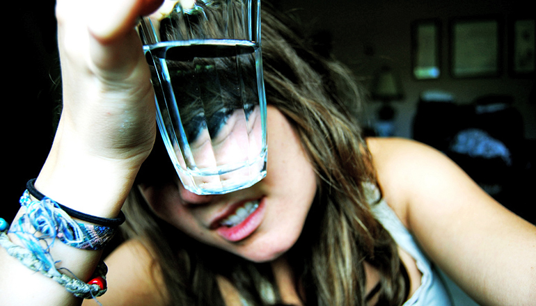 Your brain knows when your thirst is quenched