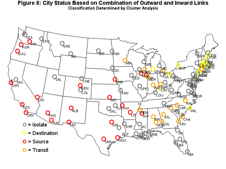 Figure 8 USA City Status Based on Clusters[5].bmp