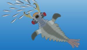 Lyrarapax illustration