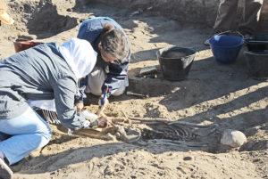excavations at Al Khiday