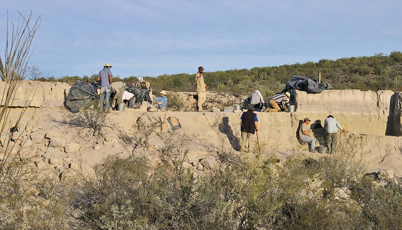 El Fin del Mundo excavation site