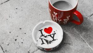 I love NY ashtray