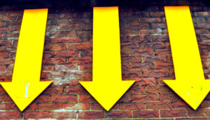 three yellow arrows
