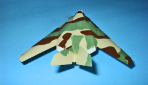 toy camo stealth fighter