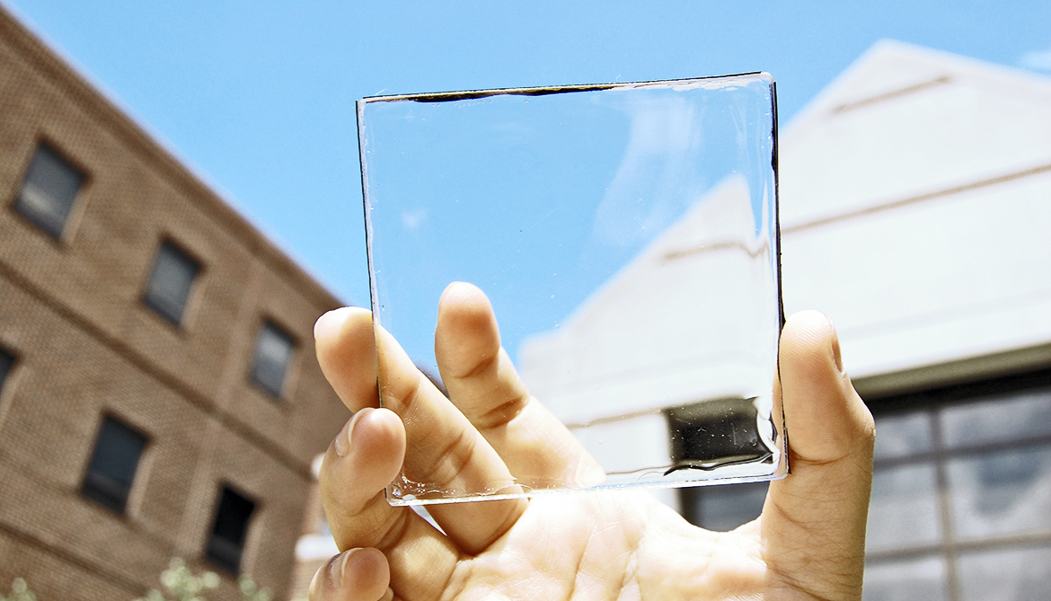 Clear Material On Windows Harvests Solar Energy Futurity