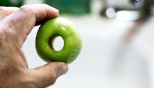cored apple illustrates Lifshitz transition