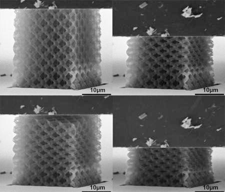 ceramic nanolattices