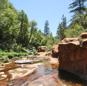 Oak Creek in Arizona