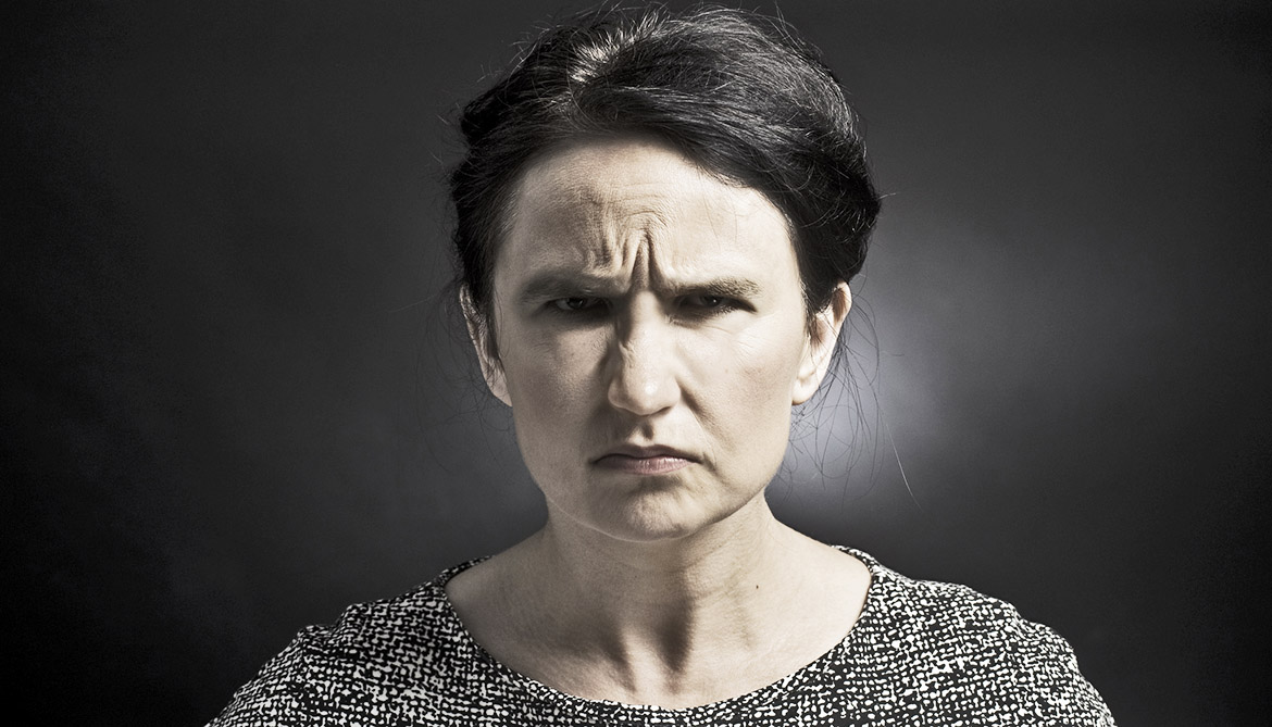 The Angry Face Makes People Look Stronger Futurity