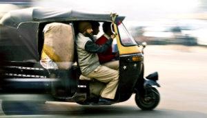 auto rickshaw in Agra