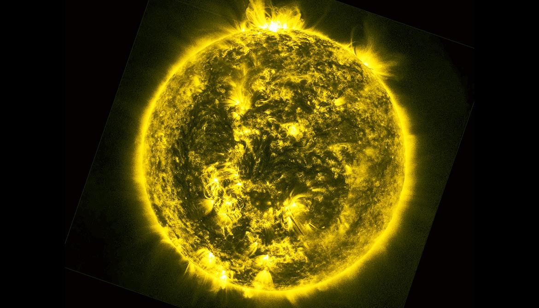 Computer recreates powerful solar flares