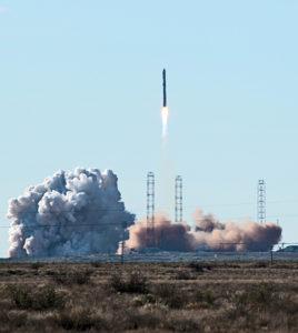 RadioAstron launching into orbit from Baikonur, Kazakhstan, in July 2011