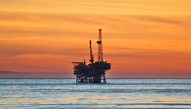 oil platform near Santa Barbara