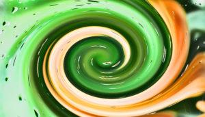 spiral swirl pattern