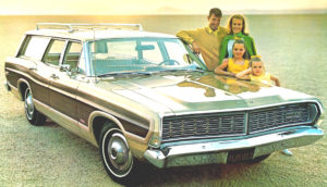 1968 Ford Country Squire stationwagon