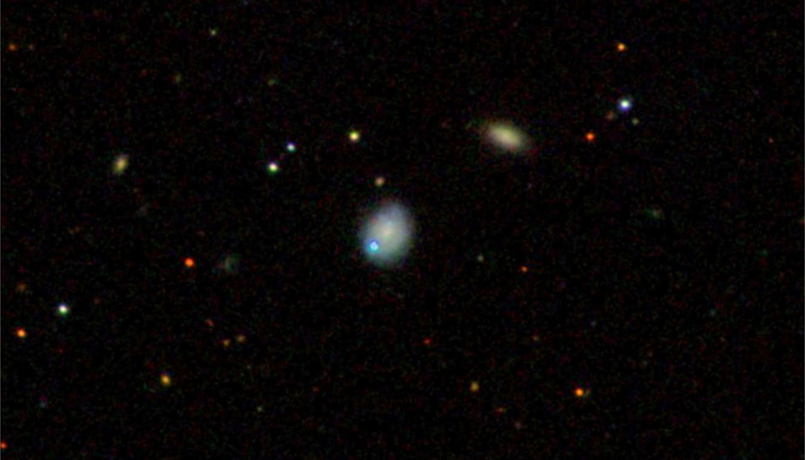 Was this black hole booted out of its galaxy?