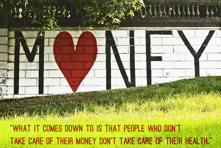 I love money sign