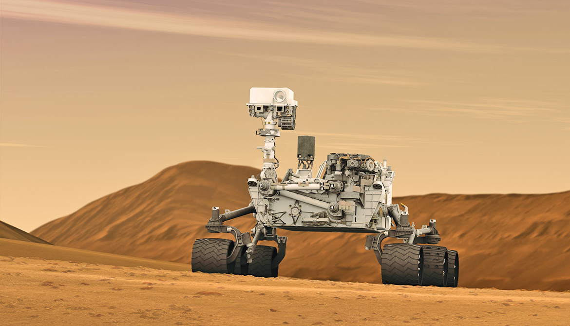 Mars rover confirms iron mineral in foothills