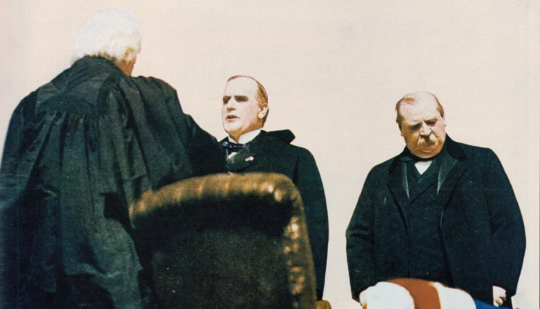 McKinley getting sworn in
