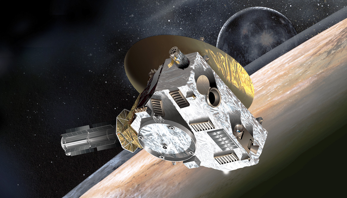 Probe wakes up to prep for Pluto flyby