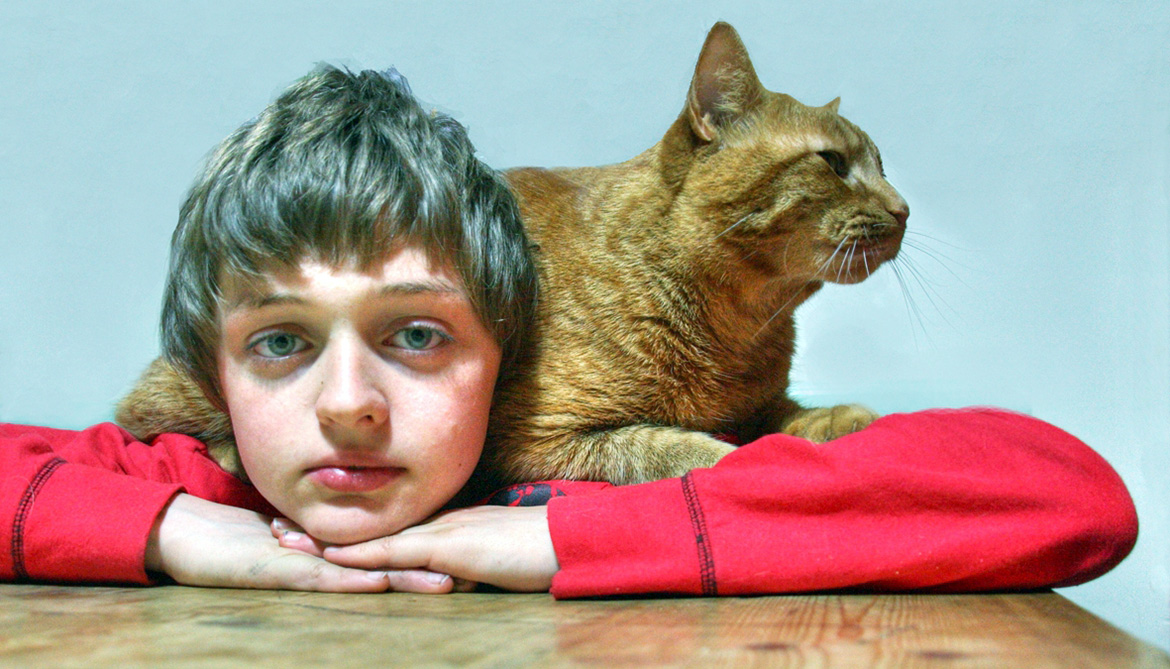 Pets bring kids with autism out of their shells