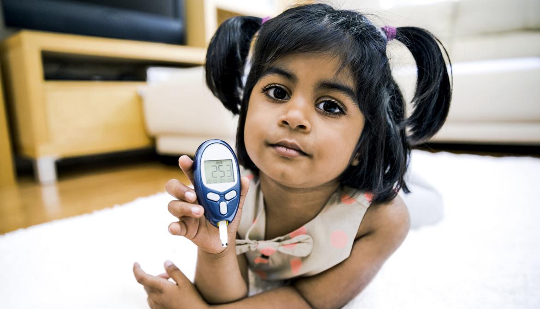 Blood sugar may slow brain growth in diabetic kids